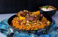 Kabsa- Kryddig orientaliskt ris med lammkött - ZEINAS KITCHEN
