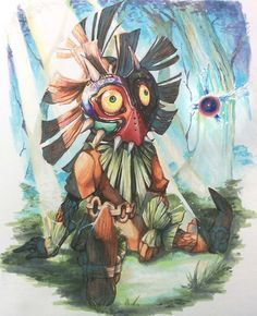 """""""If it's something that can be stopped, then just try to stop it!"""" -Skull Kid The Legend of Zelda: Majora's Mask 3D   Buy-Now!"""