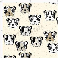 Úplet BIO MiaMea Dogs brown