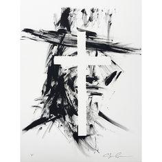 "Limited Edition Print, ""Cross"" // whitesmercantile.com"