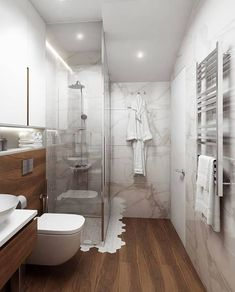 Creative ideas, decor and inspiration for the bathroom that is perfect Small Space Bathroom, Big Bathrooms, Bathroom Design Small, Bathroom Layout, Modern Bathroom, Tiny Studio Apartments, Hotel Room Design, Bathtub Remodel, Bathroom Design Luxury