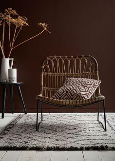 Les courbes féminisent ce fauteuil en rotin Rich Home, Cosy Corner, Rattan, Outdoor Chairs, Home Furniture, Sweet Home, Interior Design, Home Decor, Bora Bora