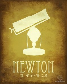 physics gift science print isaac newton physics poster math gift astronomy gift home school cla subjects Isaac Newton, Newton Physics, Newton Science, Science Quotes, Science Art, Physics Poster, Science Gifts, Nerd Gifts, School Posters