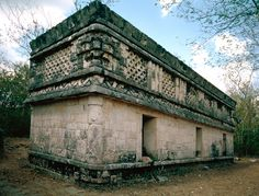 """Temple of Three Dintels"" 600-1000 AD, Chichén Itzá."