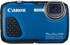 6.Canon PowerShot D30 Waterproof Digital Camera