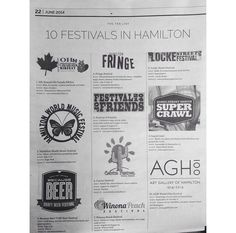 #FunFactFriday 10 festivals in Hamilton over the summer! Go enjoy them w/ your friends & family! #citybrokerage