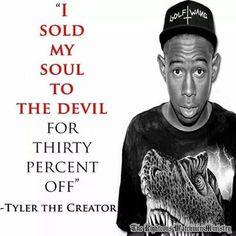 Pray for Tyler the Creator.