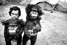 Mary Ellen Mark, 'Twin Brothers Tulsi & Basant' Great Famous Circus, Calcutta, India - 1989