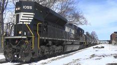 NS 1055- SD70ACe Long Hood Forward, Moline, IL