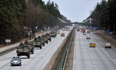 U.S. Poised to Put Heavy Weaponry in East Europe...In a significant move to deter possible Russian aggression in Europe, the Pentagon is poised to store battle tanks, infantry fighting vehicles & other heavy weapons for as many as 5,000 American troops in several Baltic & Eastern European countries