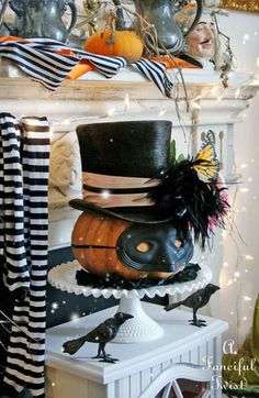 Time for a Halloween party Source by cbpaper Related posts: 70 Easy Halloween Decorations Party DIY Decor Ideas Classy Halloween Party Decoration Halloween party by Melanie DeFazio for Stocksy United 70 Easy Halloween Decorations Party Read more… Retro Halloween, Spooky Halloween, Classy Halloween, Halloween Masquerade, Halloween Party Decor, Holidays Halloween, Halloween Pumpkins, Halloween Crafts, Happy Halloween