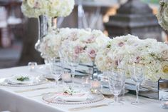 Graydon Hall Manor wedding reception decor in soft ivory and pale pink Graydon Hall Manor, Wedding Reception Decorations, Table Decorations, Persian Wedding, Ever After, Pale Pink, Bloom, Elegant, Boston