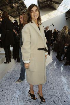 Carine Roitfeld Lace Up Boots - Carine Roitfeld Shoes Looks - StyleBistro