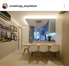 Cozinha aberta Costalonga Arquitetura