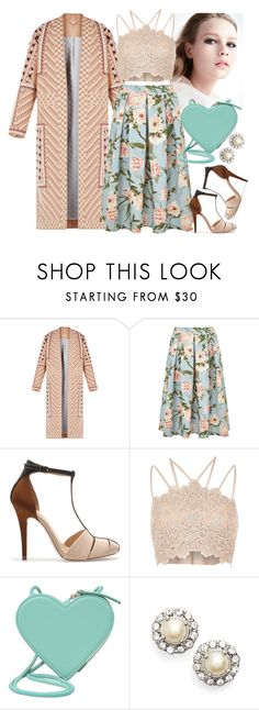 """""""Young lady"""" by s0f1a ❤ liked on Polyvore featuring BCBGMAXAZRIA, Miss Selfridge, Zara, River Island, Christopher Kane and Marchesa"""