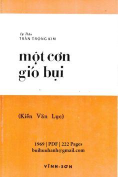 Một Cơn Gió Bụi-Kiến Văn Lục (NXB Vĩnh Sơn 1969) - Trần Trọng Kim, 222 Trang   Sách Việt Nam Company Logo, Logos, Logo