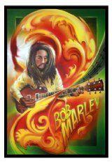 11x17 Bob Marley Drawing Poster