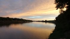 Sunset over the Vaal River North West Province, Nature Reserve, South Africa, Fish, River, Celestial, Sunset, Outdoor, Sunsets