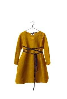 Creative Mustard Sack Dress $114.31