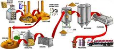 beer production flow chart - Google Search