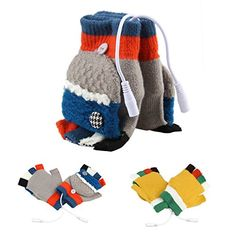 Dealpeak Cold Weather Winter Wool Knit Gloves USB Heated Warmer Gloves for Women Men Best Winter Gift Choice GS53RedBlue Gray Free Size *** You can find out more details at the link of the image.
