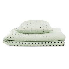 Cube bed set - mint - Normann Copenhagen
