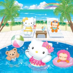 Splish, splash: Hello Kitty summer fun still to come!