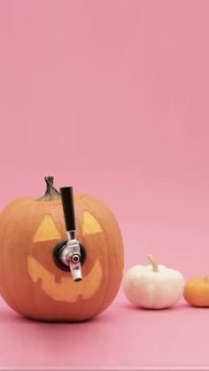 Happy Halloween everyone!! Here's how to DIY a Pumpkin Keg.