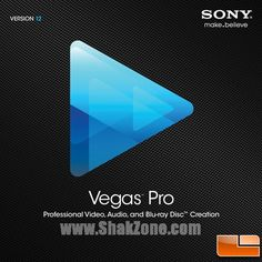 SONY Vegas Pro 12 - A professional Video, Audio and Blu-ray Disc Creation Tool Sony, Vegas, Audio, Coding, Promotion Code, Software, Coupon, Gadgets, Graphics