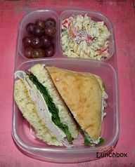 Simple Sandwich Lunc