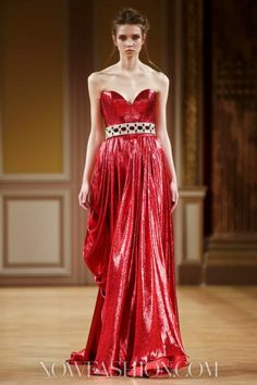 Tony Yaacoub Couture Fall Winter 2013 Paris - NOWFASHION