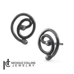 Swirl Earrings - Nichole Collins Jewelry