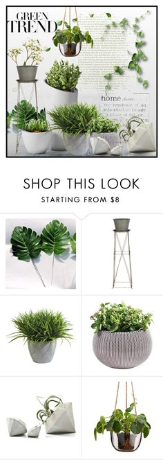 """""""Home Green Trend ..."""" by lutgard-m ❤ liked on Polyvore featuring interior, interiors, interior design, home, home decor, interior decorating, WALL, Aidan Gray and Ethan Allen"""