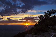 Sunset from Sandia Crest