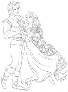 Disney Princess new redesign Style Guide Art is part of Tangled coloring pages - Disney Consumer Products Burbank and London, Princess Style Guide Art, Blueline Roughs and Final Pencil Line Art Tangled Coloring Pages, Disney Coloring Sheets, Disney Princess Coloring Pages, Disney Princess Colors, Disney Princess Drawings, Disney Colors, Cute Coloring Pages, Coloring Pages To Print, Disney Drawings