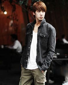Mens Denim Jacket Solid Lapel Single Breasted Denim Long Sleeve Boy Shirt Discount Online Shopping