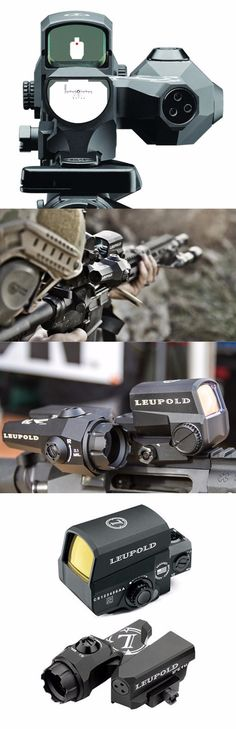 Leupold LCO 6x20mm Red Dot w D-EVO, CMR-W Reticle AR-15 Assault Rifle Sight