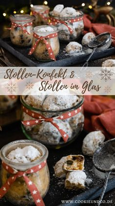 Grandma's stollen confectionery & stollen in a glass. Recipe for juicy quark stollen according t Healthy Appetizers, Appetizer Recipes, Bruchetta Recipe, Kenwood Cooking, Basil Recipes, Healthy Diet Recipes, Pumpkin Spice Cupcakes, Confectionery, International Recipes