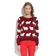 MADEWELL SHEEP SWEATER!!!