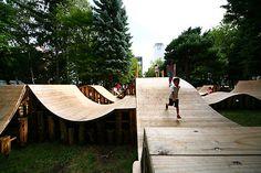 "Jun Igarashi + InterLab /// ""Korogaru"" Park in Nature YCAM"