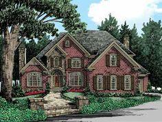 Ultimate Master Suite (HWBDO12294)   Cottage House Plan from BuilderHousePlans.com