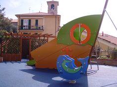 SAND ITALIA – Pergola area giochi