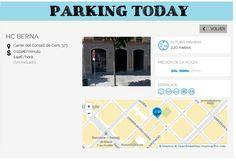 wesmartPark Parking - HC BERNA - Ubicación: Concell de Cent 373. Únete a la #parkvolucion y a la economía colaborativa!