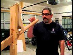 Wing Chun Gung Fu One Arm Wooden Dummy Drill Choy Lay Fut Jong - YouTube