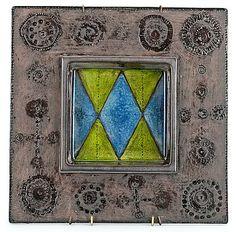 RUT BRYK, KERAMIIKKARELIEFI. Gaudi, Tile Art, Tiles, Stig Lindberg, Decorative Tile, Helsinki, I Fall In Love, Ceramic Art, Terracotta