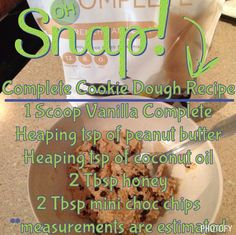 this recipe uses the amazing Juice Plus Complete protein shake mix... which…
