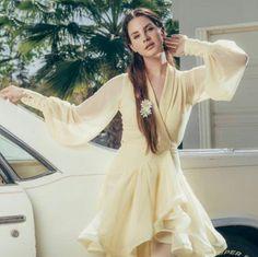 Lana Del Rey outtake for Paris Match Magazine by Sébastien Micke