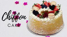 Italian Cake, Marble Cake, Chiffon Cake, Quick Easy Meals, Macarons, Italian Recipes, Panna Cotta, Cake Decorating, Birthday Cake