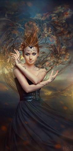 Model: Anastasiya MUA: Natali Voys Hair Style: Darya Kovaleva Edited by Flex  www.FlexDreams.com