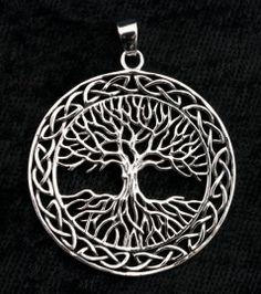 Pendentif  Argent 925 Arbre de Vie -Tree of life